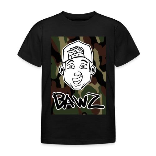 Bawz gezicht camo - Kinderen T-shirt