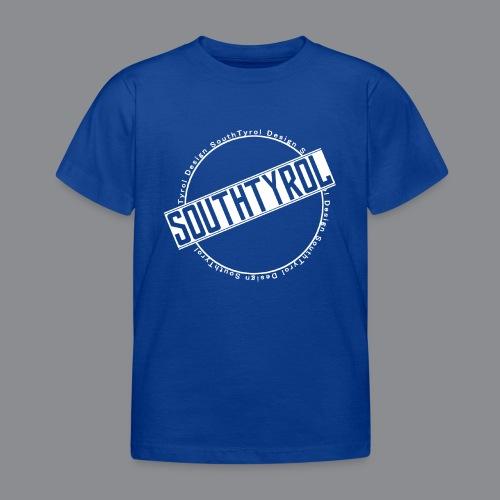 SouthTyrol Kreis weiß - Kinder T-Shirt