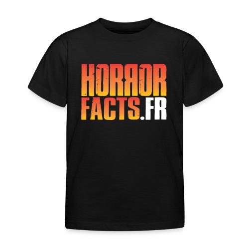 1 for Horror 2 for Facts Evil R - T-shirt Enfant