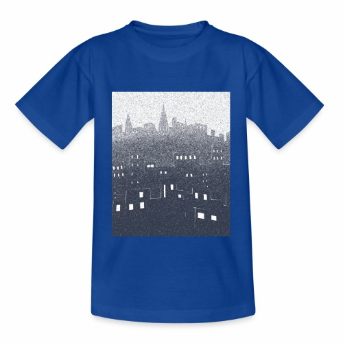 citysnow rectangle - T-shirt Enfant