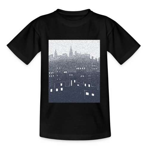 citysnow rectangle - T-shirt Enfant
