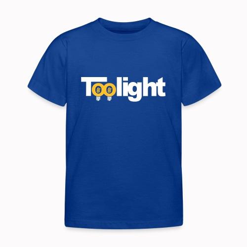 toolight on - Maglietta per bambini