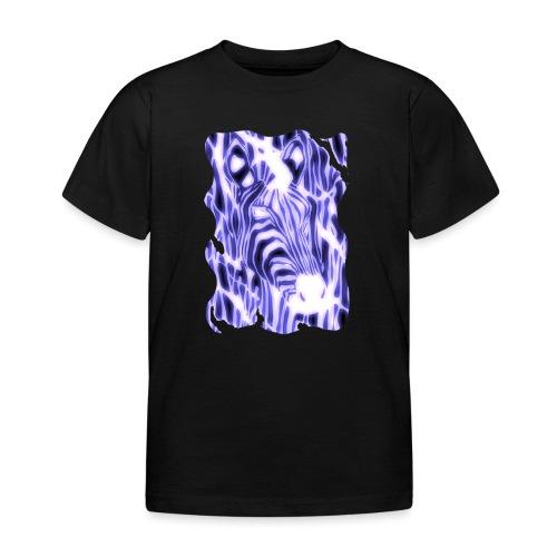 Sähköinen seepra - Lasten t-paita