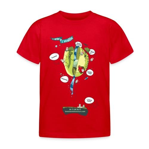 T-shirt Maison de L'aventure - T-shirt Enfant