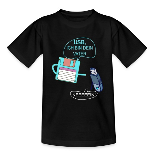 USB ich bin dein Vater xD - Kinder T-Shirt
