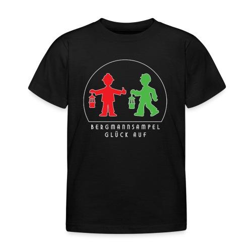 Die Bergmannsampel leuchtet - Kinder T-Shirt