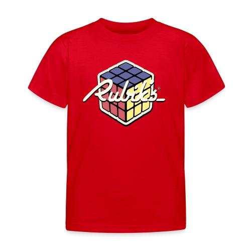 Rubik's Cube Retro Style - Kids' T-Shirt