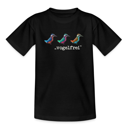 geweihbaer Vogelfrei - Kinder T-Shirt