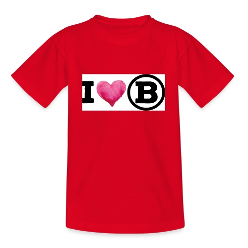 Ich liebe mein Zuhause - Kinder T-Shirt