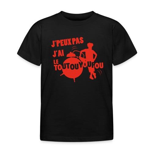 JPEUXPAS ROUGE - T-shirt Enfant