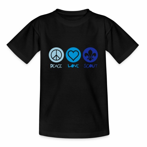 Peace Love Scout - T-shirt Enfant