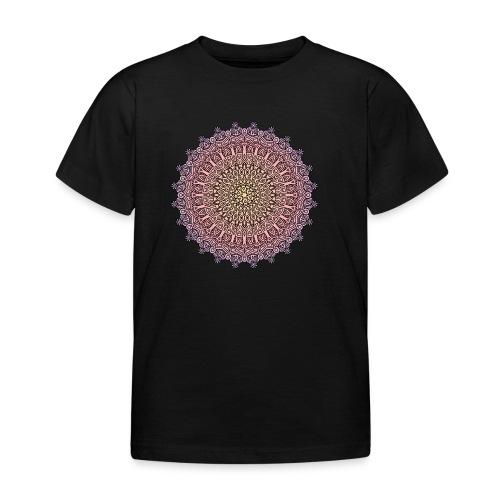 Mandala Sonnenuntergang - Kinder T-Shirt