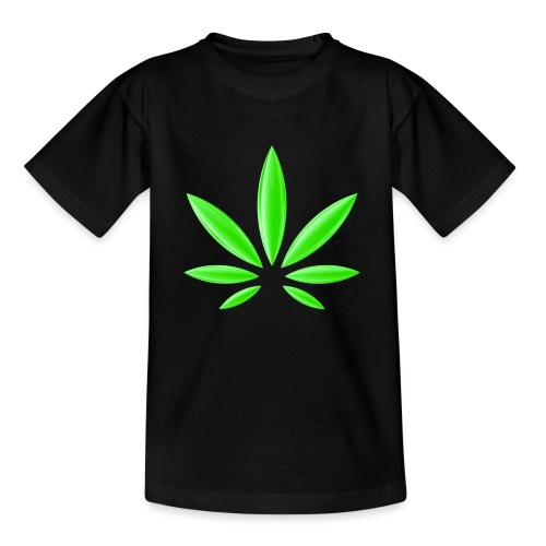 T-Shirt Design für Cannabis - Kinder T-Shirt