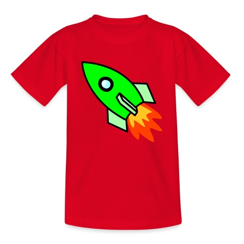 neon green - Kids' T-Shirt
