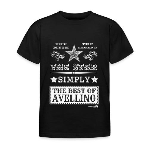 1,03 The Star Legend Avellino Bianco - Maglietta per bambini