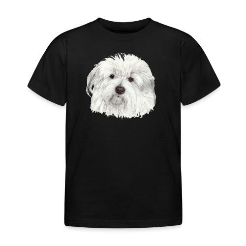 coton-de-tulear - Børne-T-shirt
