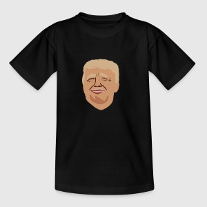 Donal Trump America first - Kinder T-Shirt
