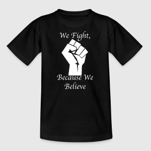 Fight whiteFist - Kinder T-Shirt