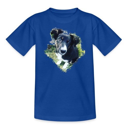 colliegermanshepherdpup - Kids' T-Shirt