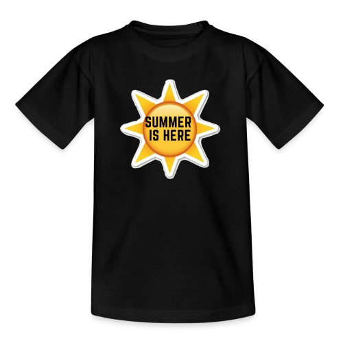 Official Summer Is Here Branded Merchandise! - Kids' T-Shirt
