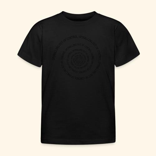 SPIRAL TEXT LOGO BLACK IMPRINT - Kids' T-Shirt