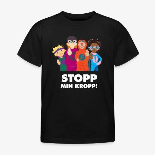 Stopp min kropp! - T-shirt barn