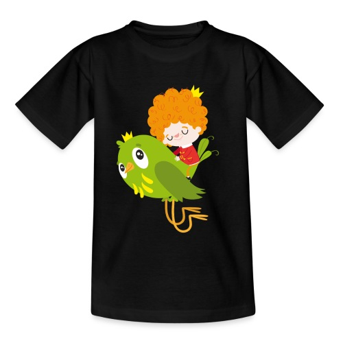 Nando flying - Kids' T-Shirt