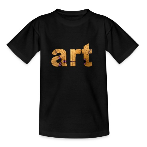 art - T-shirt Enfant