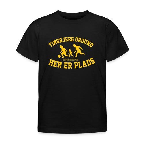Tingbjerg Ground - her er plads - Børne-T-shirt