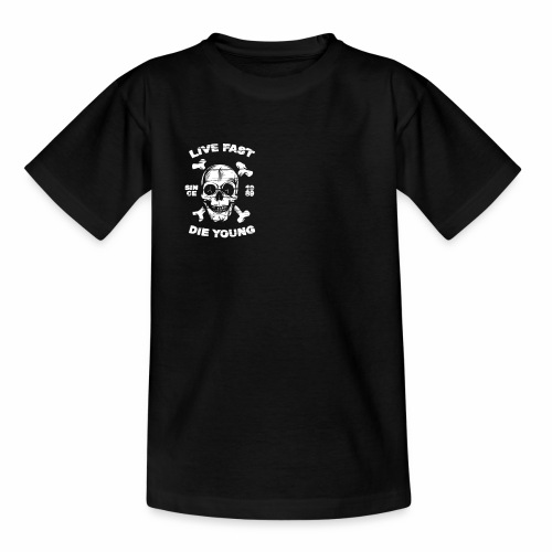 Live Fast - Die Young - Kinder T-Shirt
