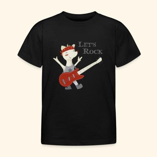 rock lupet - Kids' T-Shirt