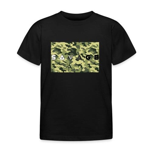savage camo premium - Kinder T-Shirt