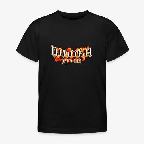 Wanka Open Air 2017 Muerte al Falso Metal - Camiseta niño