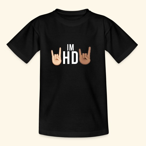 IM HD WHITE - Kids' T-Shirt