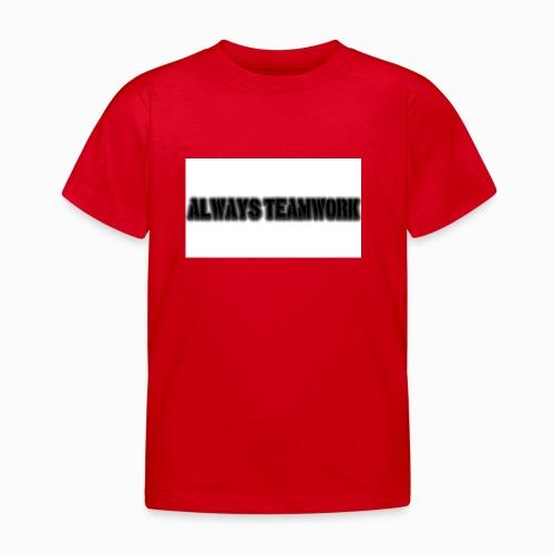 at team - Kinderen T-shirt