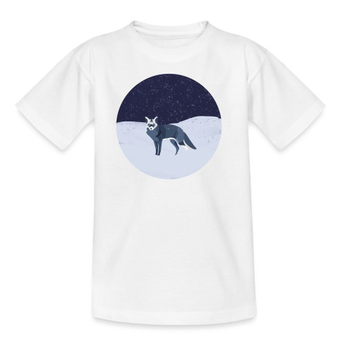 Blue fox - Lasten t-paita