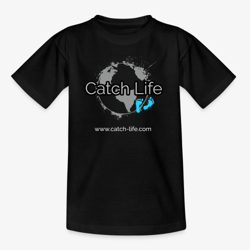 Catch Life Black - Kids' T-Shirt
