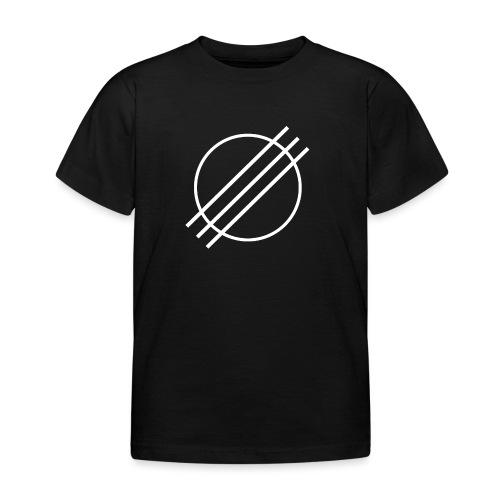 DJ Øyvind Offisiell Logo (hvit) - T-skjorte for barn