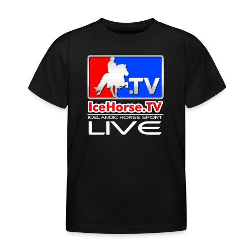 IceHorse logo - Kids' T-Shirt