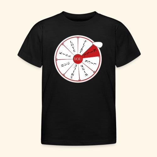 wheel of (not)fortune - Maglietta per bambini