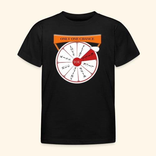 wheel of fortune? - Maglietta per bambini