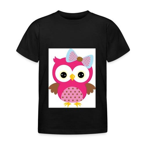 Eulenprints - Kinder T-Shirt