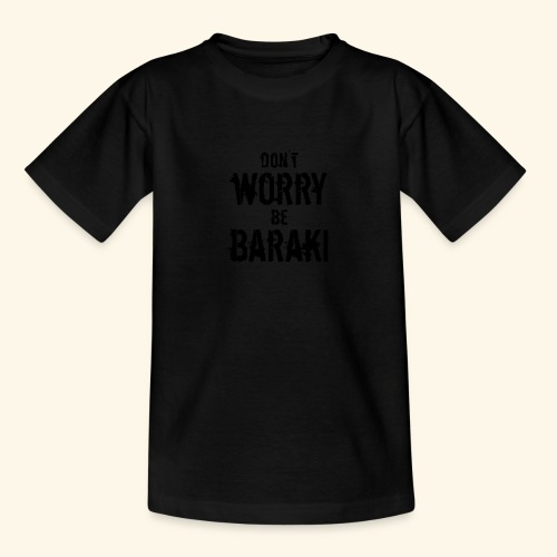 Be Baraki (Noir) - T-shirt Enfant