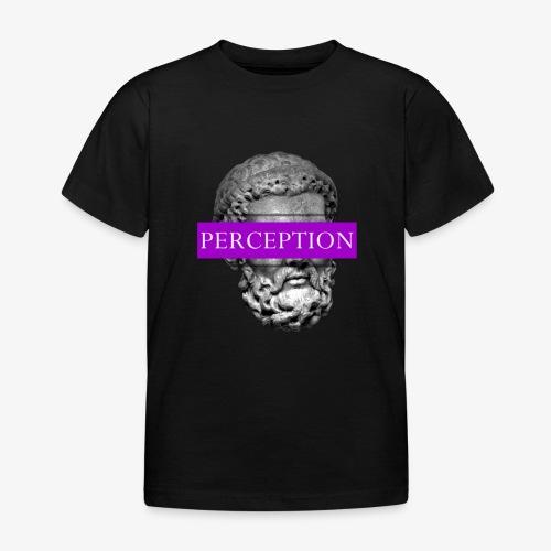 TETE GRECQ PURPLE - PERCEPTION CLOTHING - T-shirt Enfant