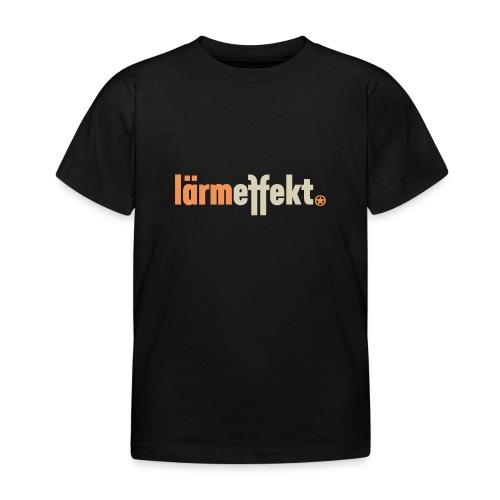 lärmeffekt Schriftzug normal - Kinder T-Shirt