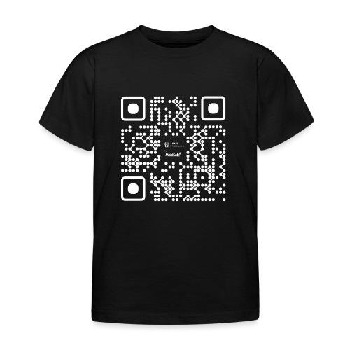 QR - Maidsafe.net White - Kids' T-Shirt
