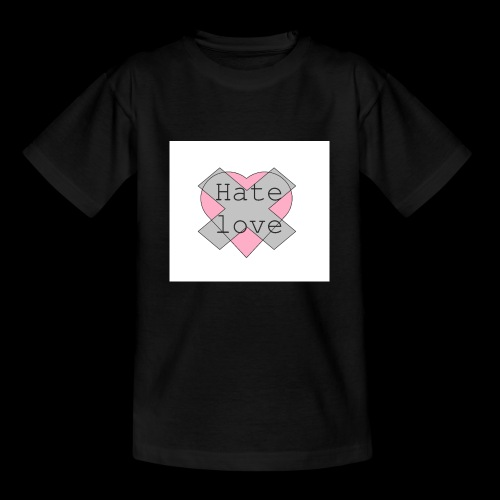 Hate love - Camiseta niño
