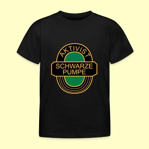 BSG Aktivist Schwarze Pumpe - Kinder T-Shirt