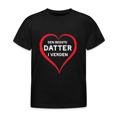 Bedste Datter i Verden - Børne-T-shirt