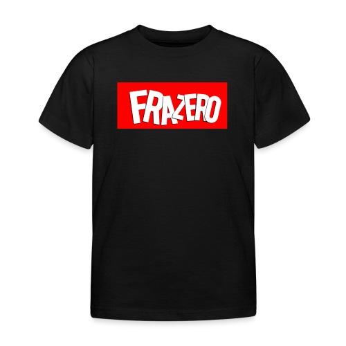 FRAZERO RED BOX DESIGN - Kids' T-Shirt